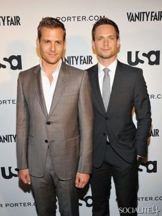 Suits - so excited for these gentlemen to be back on my TV tonight!