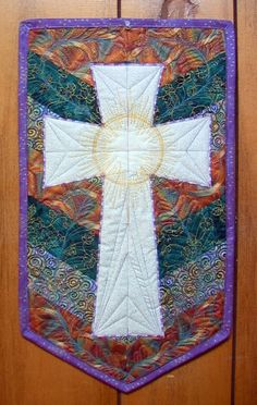 """THE CROSS"" Art Quilt"