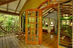 Hamanasi Adventure & Dive Resort, Belize - staying in tree houses on the beach!