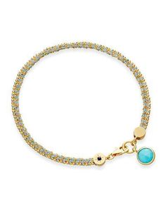 Astley Clarke Starman Bracelet with Turquoise
