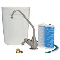 Aquasana AQ-4501.55 Premium Under Counter Water Filter System, Brushed Nickel (Tools & Home Improvement) http://www.amazon.com/dp/B004IPQIZO/?tag=pindemons-20 B004IPQIZO
