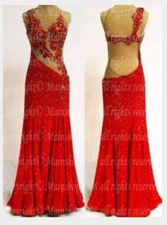 28b450a9c423 Red ballroom dress Ballroom Dance Dresses, Ballroom Dancing, Latin Dance,  Belly Dance Costumes