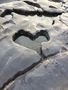 Heart Shaped Rock, Southern Down, South Wales