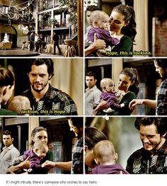 "#TheOriginals 2x14 ""I Love You, Goodbye"" - Jackson, Hayley and Hope"
