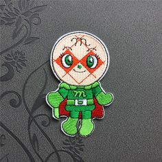 Anpanman Patch Embroidered Iron-On Patches sew on patches Cartoon patch