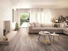 Pavimento in gres porcellanato smaltato effetto legno TREVERKMOOD Collezione Treverk by MARAZZI