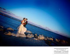 Best Lands End Sayville NY Sunset Wedding Photographer
