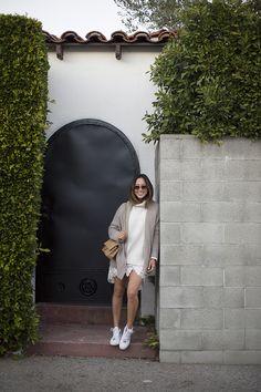 Aimee Song  I  @songofstyle  I  www.songofstyle.com  //  wearing GLAMOROUS Cream Turtleneck Sweater  < @ukglamorous www.glamorous.com >