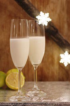 """SGROPPINO AL LIMONE un ottimo digestivo o per """"spezzare"""" pietanze diverse. Un'idea per #Natale davvero cremosa e avvolgente!"""