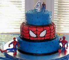 Spider-Man Cake @Sherri Collins-Moyse