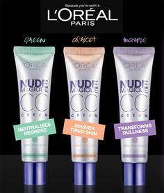 Free Loreal Nude Magique CC Cream Samples.