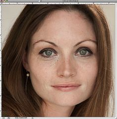 The Fast Way to Remove Dark Circles Under Eyes in Photoshop
