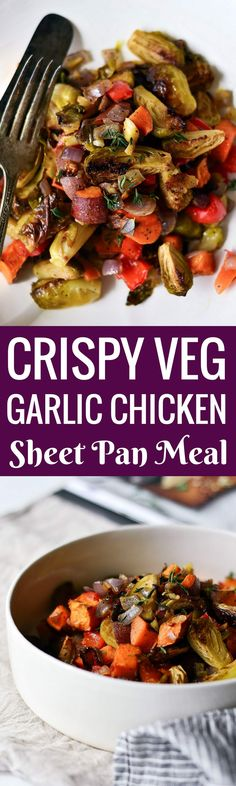 Dig into a delicious 10 minute meal with crispy brussel sprouts, sweet potatoes, and garlic chicken. Whole30 meal prep made easy! Make ahead, freeze, store in the fridge, or serve! Whole30 meal ideas. whole30 meal plan. Easy whole30 dinner recipes. Easy whole30 dinner recipes. Whole30 recipes. Whole30 lunch. Whole30 meal planning. Whole30 meal prep. Healthy paleo meals. Healthy Whole30 recipes. Easy Whole30 recipes. Easy whole30 dinner recipes.