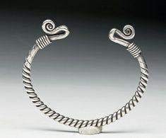 Viking Silver Bracelet, 9th-12th CenturyFound in Britain.