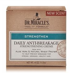 Dr. Miracle's Strengthen Anti-Breakage Strengthening Creme 4 oz $6.29   Visit www.BarberSalon.com One stop shopping for Professional Barber Supplies, Salon Supplies, Hair & Wigs, Professional Product. GUARANTEE LOW PRICES!!! #barbersupply #barbersupplies #salonsupply #salonsupplies #beautysupply #beautysupplies #barber #salon #hair #wig #deals #sales #DrMiracles #Strengthen #AntiBreakage #Strengthening #Creme
