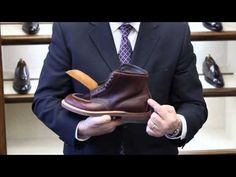 Joe Zapatka from #TheShoeMart gives us a closer look at the fitting properties and profile of the #Alden #TruBalance Last. | www.TheShoeMart.com #AldenShoes