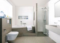 Een houten vloer in de badkamer - Makeover.nl