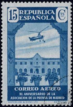 Sello: Association of the Press (España) (40 Years Press Madrid(II)) Mi:ES 667,Yt:ES PA100,Edi:ES 715