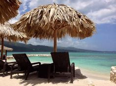 Cozy up with a good read and a beautiful beach view at Secrets St. James Montego Bay!