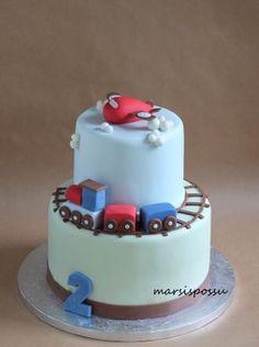 Marsispossu: Junakakku, traincake