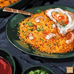 Food Texture, Cute Food Art, Food Sketch, Food Cartoon, Food Drawing, Cafe Food, Food Themes, Food Humor, Food Diary