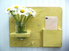 Hooks and Jar Primitive Wall Mail Organizer by SophiasSignBoutique, $45.00