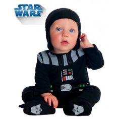 Costume de Dark Vador pour bébé