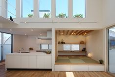 Minimalist House Design, Minimalist Home, Modern Japanese Interior, Luxury Homes Dream Houses, Natural Interior, Secret Rooms, Modern House Plans, House Rooms, Small Spaces