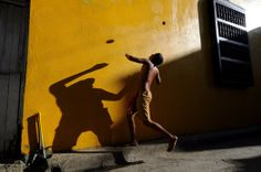The Flying Ball. Photo and caption by Dana Caspi / National Geographic Traveler Photo Contest. Digital Art Photography, Color Photography, Street Photography, 365 Photo, Photo Art, Cuba, National Geographic Images, Hotel Secrets, Mood Light