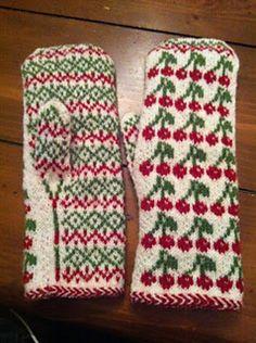 Jackpot mittens pattern by Maria Olsson #knit