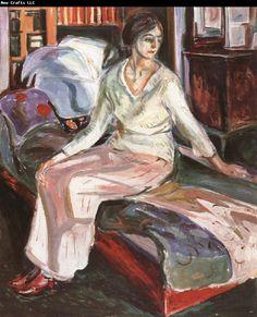 Edvard Munch Model