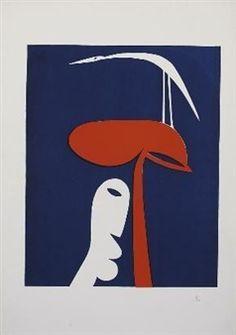 Bird Tree Man By Walter Battiss 1979