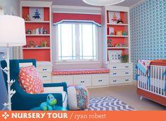 #orange #blue #nursery