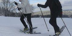 Schneeschuh Wanderung in Gräfenthal, Raum Erfurt in Thüringen #wandern #Schnee #Wintersport