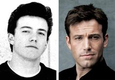 Ben Affleck Celebrities Then And Now, Young Celebrities, Celebs, Stars Then And Now, Family Album, Ben Affleck, Yesterday And Today, Celebrity Dads, Hollywood Stars