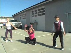 "CrossFit - Tabata Squat Demo ""3 Flying Ladies"""