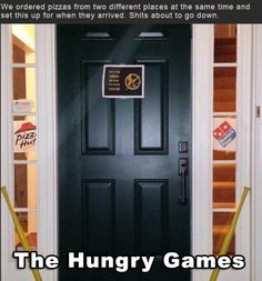 The Hungry Games - #Dominos, #Pizza, #PizzaHut