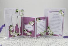 Moja papierowa kraina, Flower card inside, Marianne Design