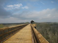 High Bridge is open! Now High Bridge Trail State Park's 31 miles of trails is open from Burkeville to Pamplin, VA through Farmville. Fabulous rails to trails project and High Bridge is significant in Civil War history.