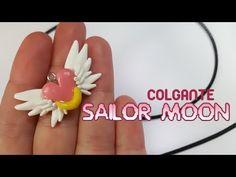 Colgante Sailor Moon - Polymer Tutorial | FIMO | PORCELANA | - YouTube
