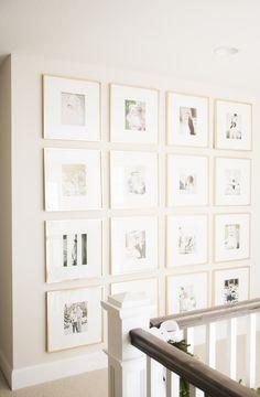 Gallery Wall Bria Hammel's Home Tour | Bria Hammel Interiors
