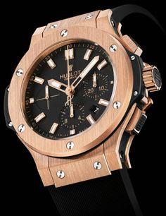 Hublot Big Bang Gold Watch