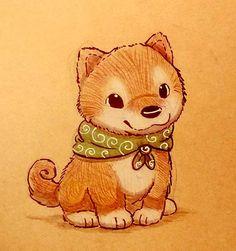 Sketchbook Daily 63# - Shiba Inu