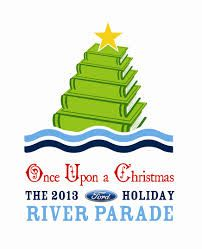 "The 2013 Ford Holiday River Parade theme is ""Once Upon a Christmas."" To purchase tickets visit thesanantonioriverwalk.com"