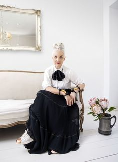 Jackie Burger, owner and creator of Salon 58 & former editor of Elle South Africa.