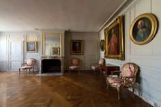 The apartment of Mr. de Maurepas, Louis XVI's head of the Royal Council of…
