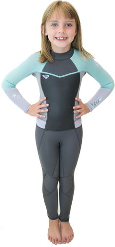 ba72e9f4b9 3 2mm Toddler s Roxy SYNCRO Full Wetsuit