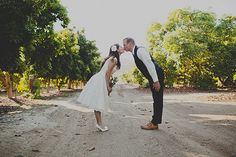 Eclectic lemon ranch DIY wedding