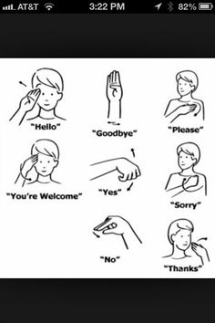 The letters of the alphabet in American Sign Language.You can find Sign language and more on our website.The letters of the alphabet in American Sign Language. Sign Language For Kids, Sign Language Phrases, British Sign Language, Sign Language Alphabet, English Sign Language, Sign Language Basics, Learn Sign Language Free, Deaf Language, Baby Sign Language Chart