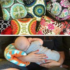 Safari-Nursie Arm Kissen / PATENT von FromMeinhartToYours auf Etsy
